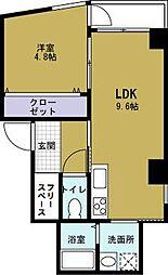 コータスKN[2階]の間取り