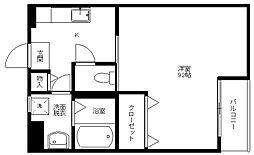 兵庫県豊岡市高屋の賃貸マンションの間取り