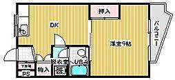 ドリーム東青梅[402号室号室]の間取り