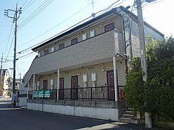千葉県流山市西松ケ丘1丁目の賃貸アパートの外観