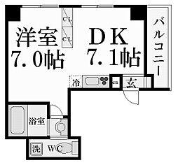 ノベラ西宮江上町[7階]の間取り