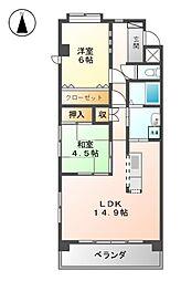 第二Mビル[2階]の間取り