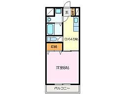 サンハイツイトウ C棟[2階]の間取り