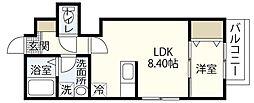 MOVE府中浜田壱番館[3階]の間取り