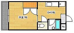 マンションA&R[302号室]の間取り
