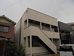 キューブ上小田井 A棟(CUBE上小田井A棟)[1階]の外観
