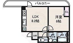 西木津駅 4.5万円