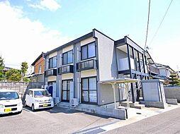 京都府木津川市相楽城西の賃貸アパートの外観