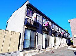 埼玉県所沢市中富南1丁目の賃貸アパートの外観
