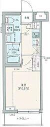 ロアール豊島長崎[205号室]の間取り