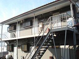 磯貝アパート[1階]の外観
