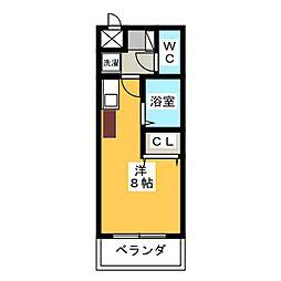 グランデュール56[4階]の間取り