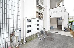 アルファ八田[3階]の外観