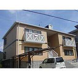広島県呉市焼山ひばりヶ丘町の賃貸アパートの外観