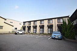 大阪府富田林市中野町2丁目の賃貸アパートの外観