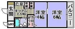 エイトワン吉井町[103号室]の間取り