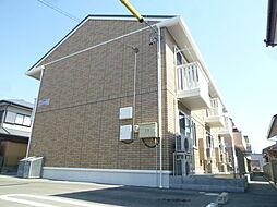 静岡県磐田市豊島の賃貸アパートの外観