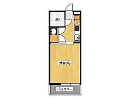 サンハイムEI[2階]の間取り