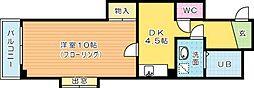 ルミエ−ルKY 2[902号室]の間取り