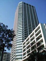 白金タワー・タワー棟[10階]の外観