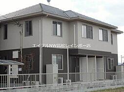 香川県高松市六条町の賃貸アパートの外観