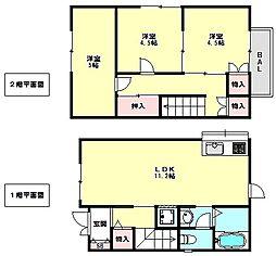 [一戸建] 兵庫県神戸市垂水区東舞子町 の賃貸【/】の間取り