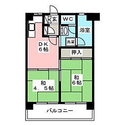 第12岡部ビル[9階]の間取り