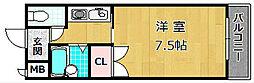 M'PLAZA津田駅前八番館[2階]の間取り