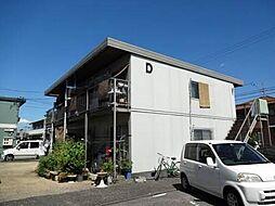 岡山県岡山市南区新福1丁目の賃貸アパートの外観