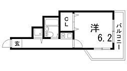 ホーユーコンフォルト新神戸[3階]の間取り