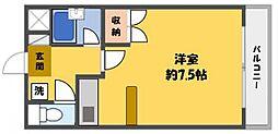 マンションOZ[3階]の間取り