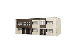 平田1丁目新築アパート2LDKの外観