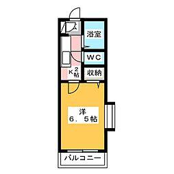 栄レジデンス[1階]の間取り