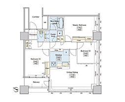 JR山手線 大塚駅 徒歩9分の賃貸マンション 5階3LDKの間取り