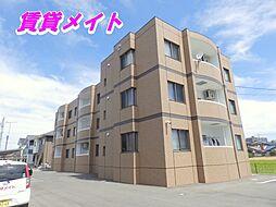 三重県四日市市大字西阿倉川の賃貸マンションの外観