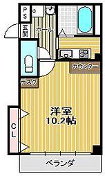 レグルス桜夙川[3階]の間取り