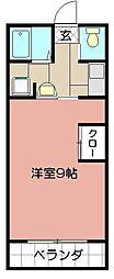 トーマスタワー[1803号室]の間取り