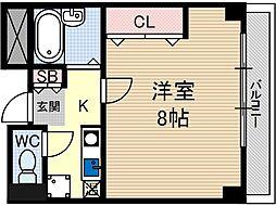 セリバノーブル[6階]の間取り