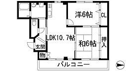 JUMA-1[4階]の間取り