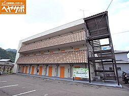 岐阜県岐阜市岩崎の賃貸アパートの外観
