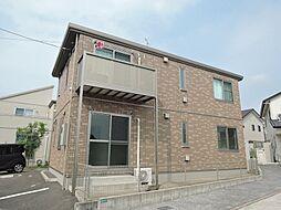 福岡県中間市中央2丁目の賃貸アパートの外観