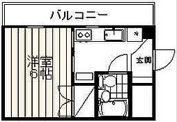 エスカイア笹口[2階]の間取り