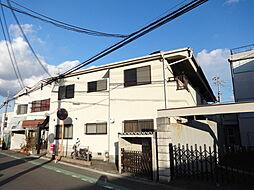 大阪府富田林市若松町4丁目の賃貸アパートの外観