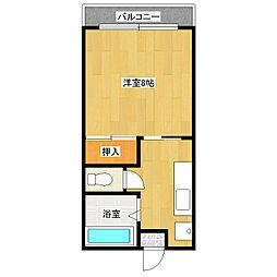 山本学園ビル[306号室]の間取り