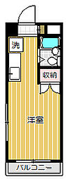 ペルレ45[1階]の間取り