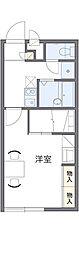 東京都青梅市森下町の賃貸アパートの間取り