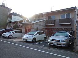 京都府京都市北区上賀茂岡本口町の賃貸マンションの外観
