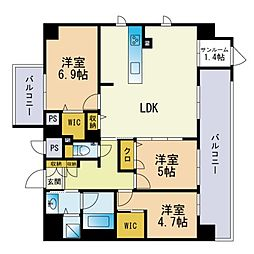 西鉄香椎駅 16.0万円