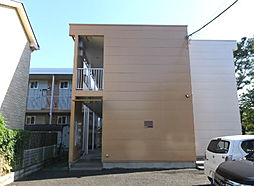 東京都小金井市桜町3丁目の賃貸アパートの外観