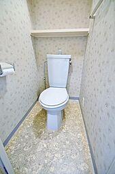 エトワールミサキの清潔感のあるトイレです